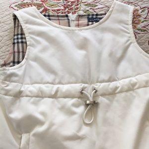 Burberry dress size 2-3 92 cm winter white
